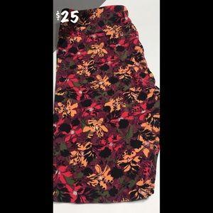 NWT LuLaRoe TC Leggings Floral